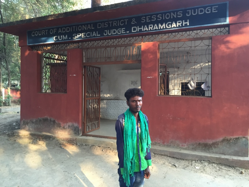 Dialu attends the judgment in Odisha.