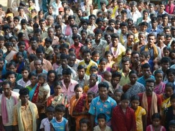 More than 500 children, women and men were brought out of the brick kiln to freedom.