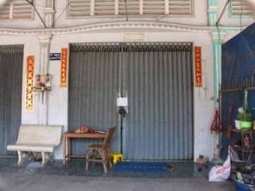 The massage parlor that was ordered closed after IJM assisted police with an anti-trafficking operation