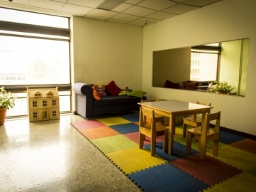Inside the Geselle Chamber, where children can testify in a room that is made to feel more child-friendly
