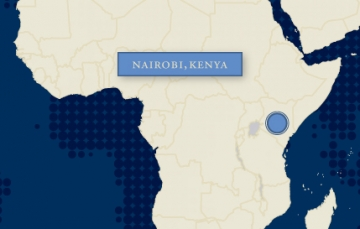 IJM Kenya works with local police to track down those who sexually abuse impoverished children and hold them accountable in court.