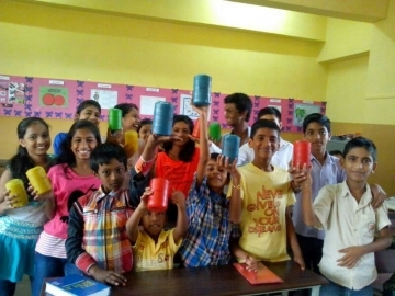 Children from one church collected spare change from families and neighbors in their slum community to help pay for Christmas parties for survivors of sex trafficking.