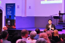"""""""Australia has an incredibly important role to play."""" - IJM Manila's Sam Inocencio, updating new supporters on IJM's work at an IJM Australia launch event"""