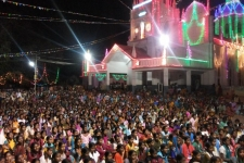 Ariyalur District: Hundreds of people from India's scheduled castes and scheduled tribes--formerly called Dalits--gathered in the town's main square to watch the play and learn about forced labor slavery.
