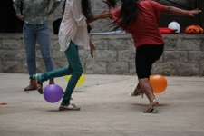 """Children in IJM's aftercare program participate in the """"Super Day of Joy."""""""