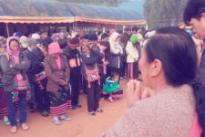 IJM has been advocating for more than 350 Hill Tribe people for over two years. The villagers wanted to pray with IJM before they went on to the courthouse. Later that afternoon, the court ruled that their pending citizenship applications must be reviewed within 90 days.