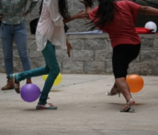 "Children in IJM's aftercare program participate in the ""Super Day of Joy."""