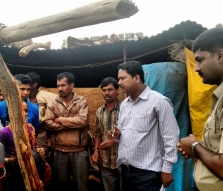 The forced laborers shared their stories with authorities and explained how they had been working as slaves
