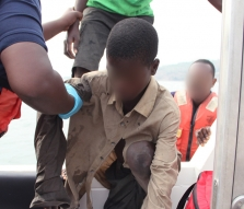 Child rescued in Ghana