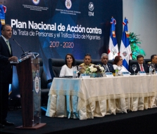 On May 10, 2018, the Dominican Republic Ministry for External Relations (MIREX) and International Justice Mission (IJM) celebrated the collaborative launch of the National Plan of Action Human Trafficking and the Smuggling of Migrants